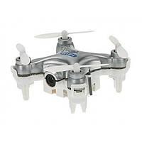 Квадрокоптер с камерой Wi-Fi Cheerson CX-10W нано (серый) (CX-10Wg)