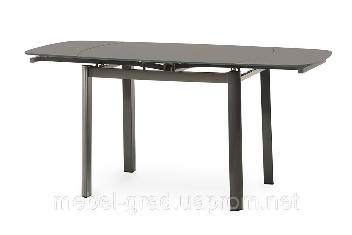 Стол обеденный (раскладной) T-600-2 Vetro Mebel серый
