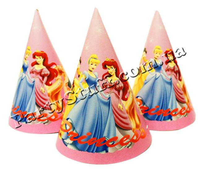 колпачки Принцессы на праздник