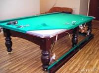 Услуги по ремонту и реставрации бильярдных столов
