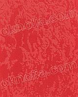 Рулонная штора на окна Агат 2088 красный открытая система, 400*1650 мм