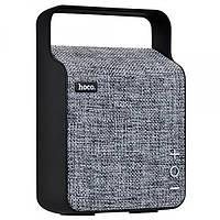 Портативная колонка Hoco BS6  NuoBu desktop Bluetooth speaker Gray