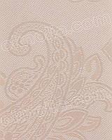 Ролеты тканевые жалюзи на окна Арабеска 1839 светло-коричневый открытая система, 400*1650 мм