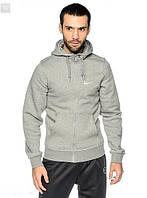 Спортивний костюм Найк, чоловічий костюм Nike сірий верх кенгуру, чорні штани, трикотажний