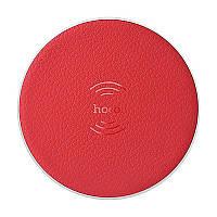 Беспроводное зарядное устройство Hoco CW14 wireless charger 1A Red