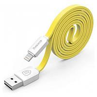 Кабель Baseus String Lightning 1M Yellow+White