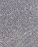 Ролеты тканевые жалюзи на окна Арабеска 2082 серый открытая система, 400*1650 мм