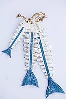 Декоративний скелет риби, 40 см