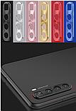 Защитная алюминиевая рамка камеры для Xiaomi Redmi Note 8 / Xiaomi Redmi Note 8T / Серебро, фото 7