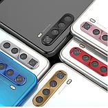Защитная алюминиевая рамка камеры для Xiaomi Redmi Note 8 / Xiaomi Redmi Note 8T / Серебро, фото 6