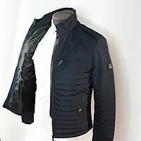 Куртка классическая синяя на весну