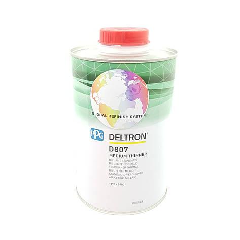 Растворитель акриловый PPG Deltron D807 Medium Thinner 1л, фото 2