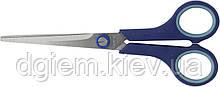 Ножницы с резиновыми вставками 175мм BUROMAX