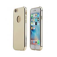 Чехол Rock Infinite Series (Mirror) для Apple iPhone 6/6s Gold