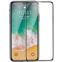 Защитное стекло Baseus 0.23mm Anti-break edge Arc-surface for iPhone X/Xs Black