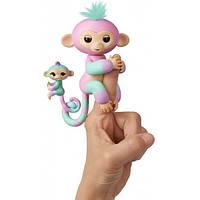 WowWee Fingerlings Гламурная ручная обезьянка Эшли мини-обезьянкой (W3540/3542)