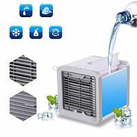 Мини кондиционер ,охладитель воздуха вентилятор увлажнитель для дома и офиса со сменой цветов 450968-2