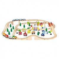 Железная дорога Viga Toys 90 деталей (50998)