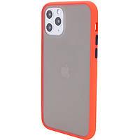 "TPU+PC чехол Color Buttons для Apple iPhone 11 Pro (5.8""), фото 1"