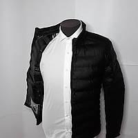 Куртка стеганая черная на весну
