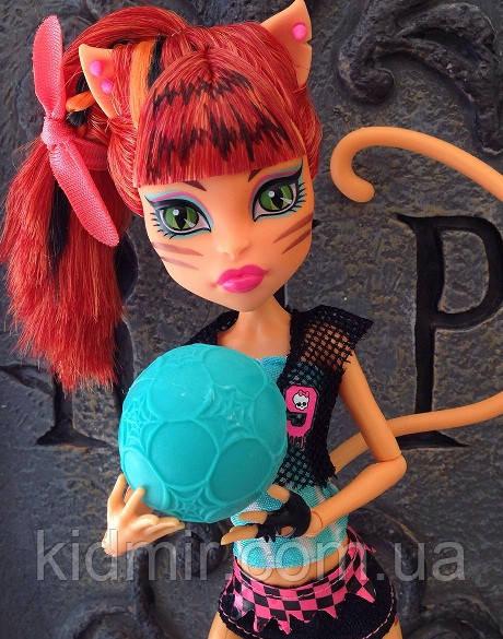 Кукла Monster High Торалей Страйп (Toralei Stripe) Монстры спорта Монстер Хай Школа монстров