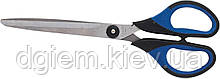 Ножницы с резиновыми вставками 180мм BUROMAX