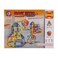 Детский магнитный Конструктор LT1002 46 деталей