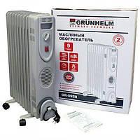 Масляный радиатор GRUNHELM GR-0920/2,0кВт (80075)