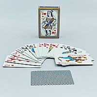 Игральные карты с ламинированным покрытием 9819 (колода в 54 листа, толщина-0,4мм)