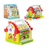 Детская развивающая игрушка Hola 9196 Теремок-сортер (Русский)