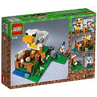 Конструктор LEGO MINECRAFT Курятник 198 деталей (21140)