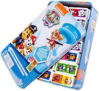 Игра настольная в жестяной коробке Spin Master Games Домино Щенячий патруль (SM98408/6033087)