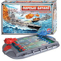"""Настільна гра """"Морські баталії ТехноК"""", арт.1110"""