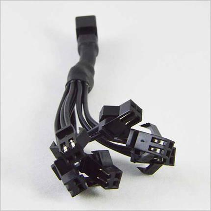 Разъем для холодного неона(ел. провода) 6 МАМА-1 ПАПА, фото 2
