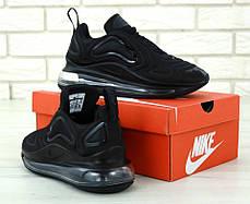 Мужские кроссовки в стиле Nike Air Max 720 Black, фото 3