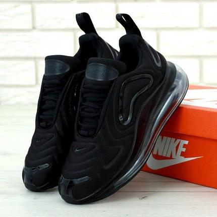 Мужские кроссовки в стиле Nike Air Max 720 Black, фото 2