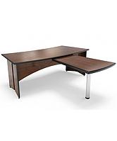 Стол руководителя С201 с приставным столом С301