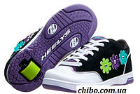 Роликовые кроссовки Heelys Flora 7964 Черно-белые