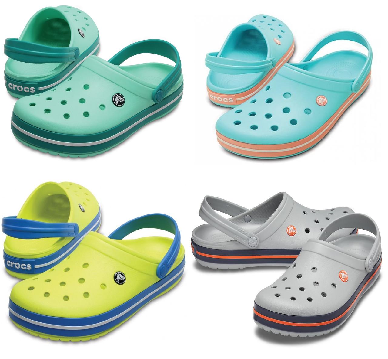 Кроксы женские шлепанцы Крокбенд Сабо оригинал / Crocs Crocband Clog