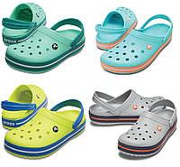 Кроксы женские шлепанцы Крокбенд Сабо оригинал / Crocs Crocband Clog, фото 1