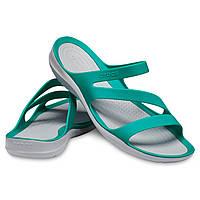 Шлепанцы женские Кроксы Свифтвотер сндалии оригинал / Crocs Women's Swiftwater Sandal, фото 1