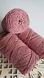 Macrame Cotton Lurex №743 фрез+фрез, фото 3