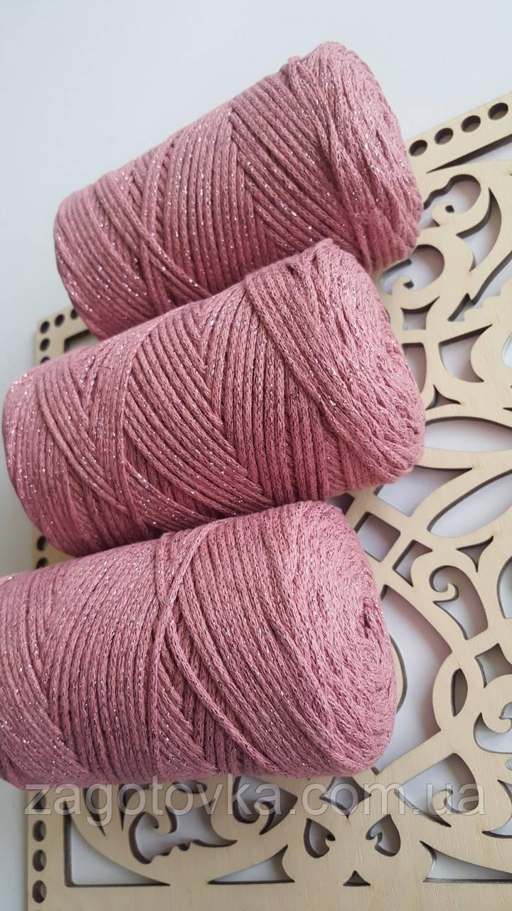 Macrame Cotton Lurex №743 фрез+фрез