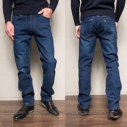 9004 Siheren джинсы мужские полубатальные на флисе зимние стрейчевые (33,34-2,36-2,38, 6 ед.)