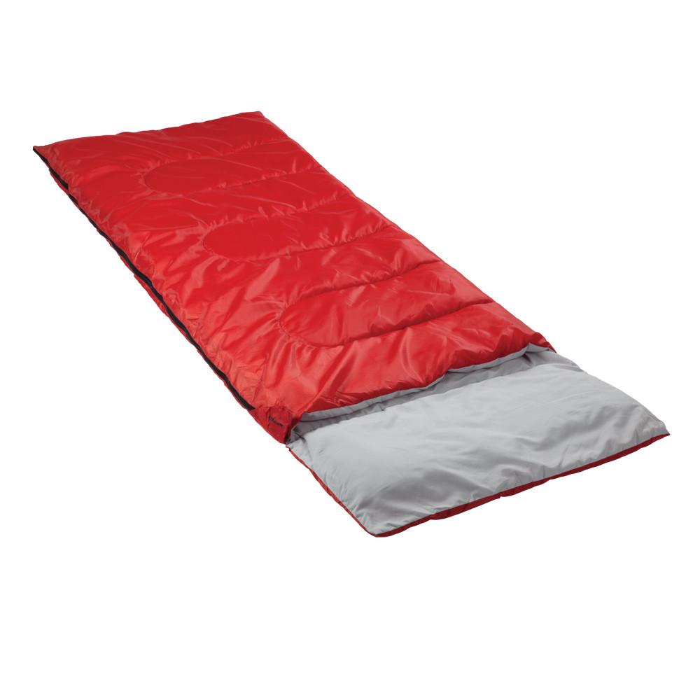 Спальный мешок Кемпинг Rest с подушкой (Красный)