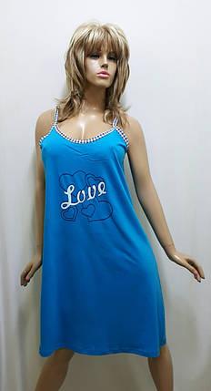 Ночная рубашка большого размера хлопок 172, фото 2