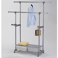 """Стійка для одягу подвійна з ящиками """"W-88"""", фото 1"""