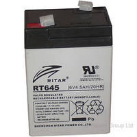 Аккумулятор 6В 4,5Ач RT645 Ritar