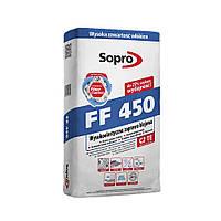 Клей для плитки Sopro FF-450E S1 Extra высокоэластичный 25 кг серый