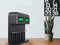 Зарядний пристрій Travel Portable Авто Зарядні пристрої Smart Charger для Nicd / Nimh AA / AAA / SC / C / D